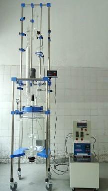 玻璃反应精馏装置100L